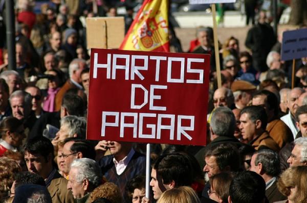 """España importa el """"Yo no pago"""" griego"""