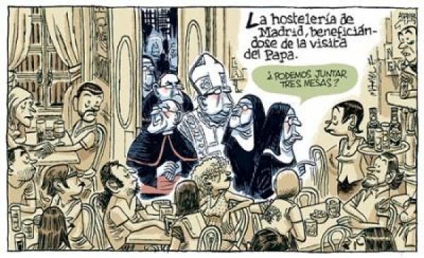 Más papistas que el Papa y más romanos que Pilatos