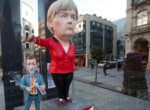 El ministro de Merkel y no Rajoy explica la huelga y los recortes