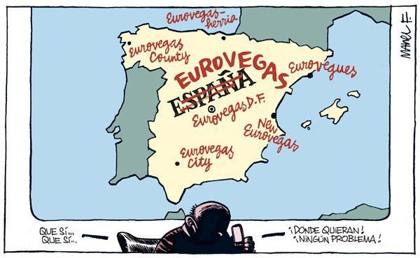 Tras el crack europeo llega Eurovegas