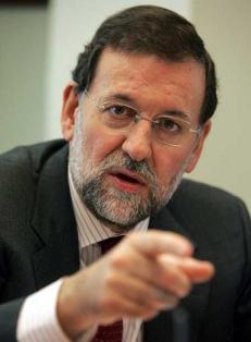 Rajoy enseña los dientes.