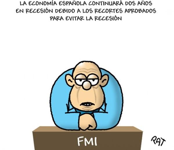 La recesión ya es oficial en España