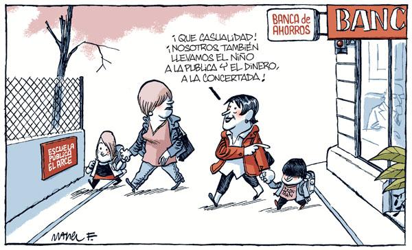"""Una pregunta para Wert: ¿Dónde estudiará """"la niña de Rajoy""""?"""