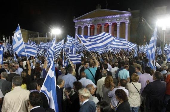 Grecia comienza a ver la luz