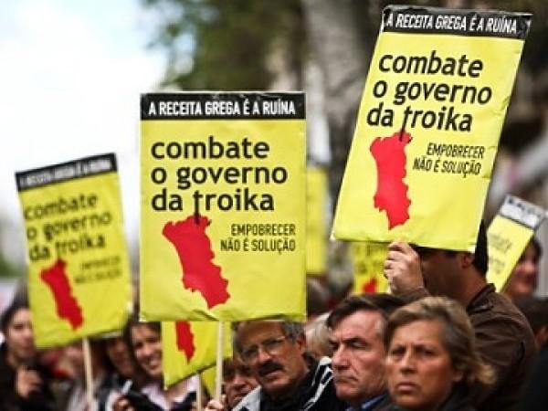 A los portugueses les bajan el sueldo, a los griegos los matan de hambre y a los españoles…