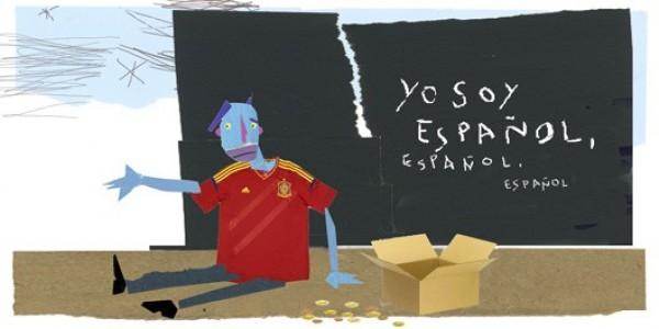 La crisis convierte a 13 millones de españoles en pobres