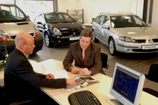 Peligran el 30% de los concesionarios de vehículos en España