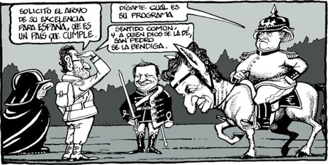 Alemania pasa de Rajoy