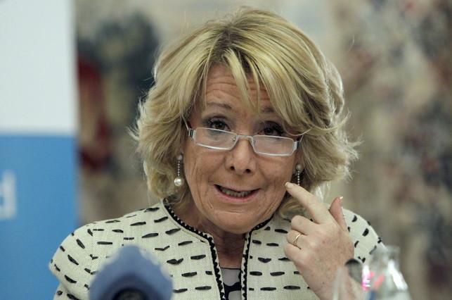 Esperanza Aguirre pide más recortes