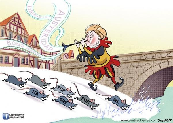 Alemania solo propone austeridad como solución a la crisis