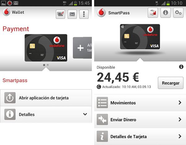 Si eres de Vodafone podrás pagar con visa a través del móvil