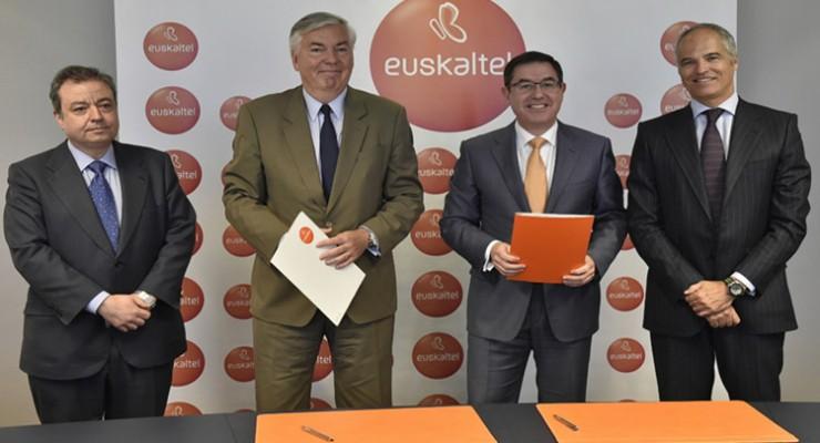 Euskaltel y GFI sellan una alianza que creará empleo cualificado