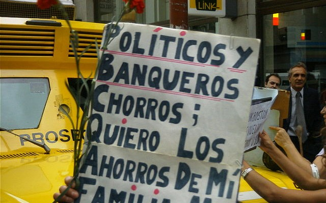 El Gobierno argentino está en quiebra