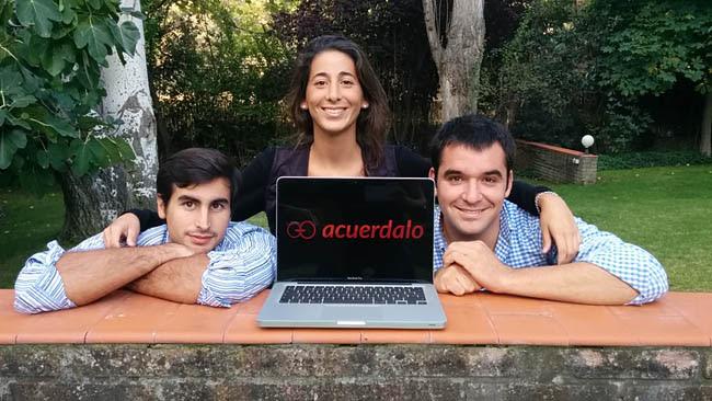 Caralin Group apadrina el lanzamiento de Acuerdalo.com, una web de compra online donde el usuario determina el precio